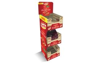 PLV, Soporte venta producto revilla, diseño, ilustración y maquetación.