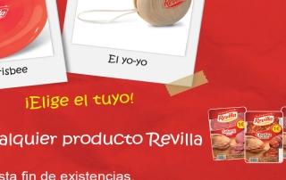 Retail PLV, promoción, Revilla