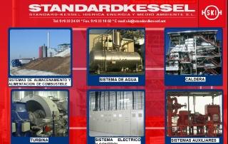 Interactivo, videos, audiovisuales, información detallada de la empresa e interacción con la website