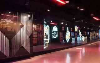 Ilustraciones, murales de historia, exposiciones, museos